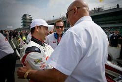 Oriol Servia, Scuderia Corsa with RLL Honda, mit Bobby Rahal