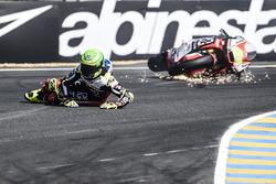 Eric Granado, Forward Racing crash