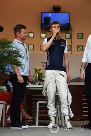 Mika Salo, and Sergey Sirotkin, Williams