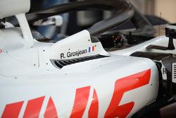 Haas F1 Team VF-18 sidepod