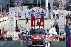 Les vainqueurs Sébastien Loeb, Daniel Elena, Citroën C4 WRC, Citroën World Rally Team