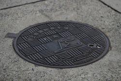 Схема трассы Гран При Китая на канализационном люке