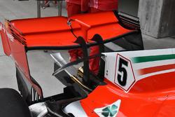 Ferrari SF71H detalle alerón trasero