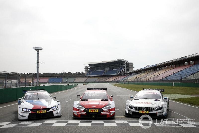 BMW M4 DTM, Audi RS5 DTM, Mercedes-AMG C63 DTM