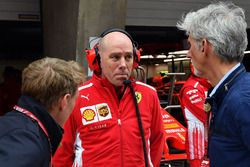 Simon Lazenby, Sky TV, Jock Clear, Ferrari Chief Engineer en Damon Hill, Sky TV
