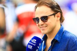 Retired Formula 1 driver, Felipe Massa