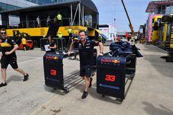 Un mécanicien Red Bull Racing