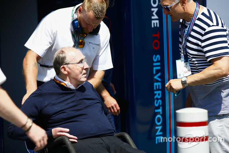 Sir Frank Williams, Team Principal, Williams Martini Racing