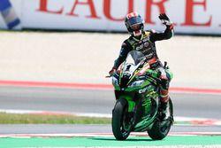 Il vincitore della gara Jonathan Rea, Kawasaki Racing