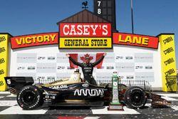 James Hinchcliffe, Schmidt Peterson Motorsports Honda, podio