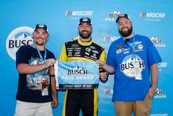 Paul Menard, Wood Brothers Racing, Ford Fusion Menards / Sylvania Busch Pole Award