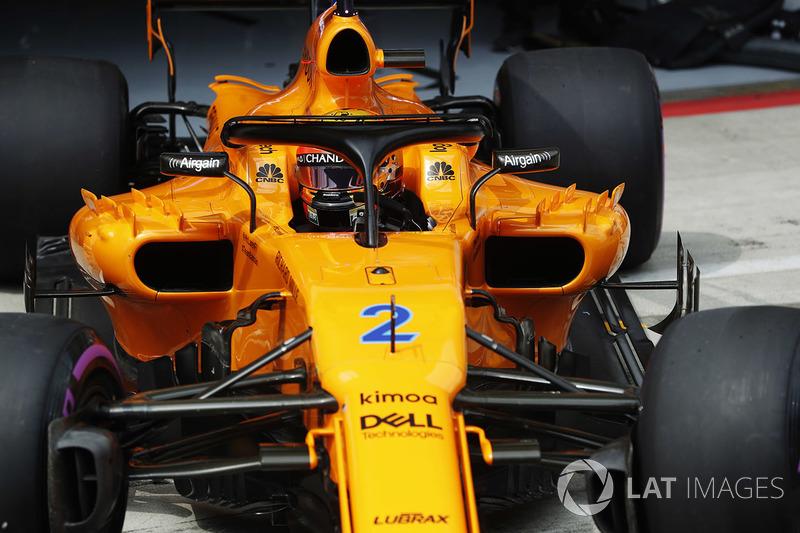 14. Стоффель Вандорн, McLaren MCL33