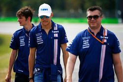 Ознакомление с трассой: Эстебан Окон, Sahara Force India F1