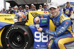 Polesitter Alexander Rossi, Herta - Andretti Autosport Honda