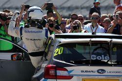 Race winner James Cole, Team BMR Subaru Levorg