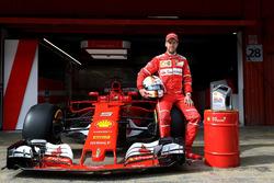 Себастьян Феттель, Ferrari SF70H, Shell Helix Ultra