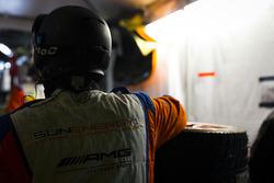 #75 SunEnergy1 Racing Mercedes AMG GT3: Boris Said, Tristan Vautier, Kenny Habul, Maro Engel, miembr