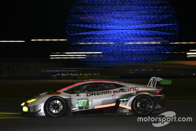 19. GTD: #27 Dream Racing, Lamborghini Huracan GT3