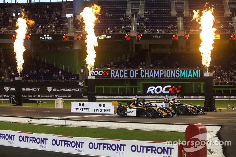Travis Pastrana und Alexander Rossi, im Radical SR3 RSX