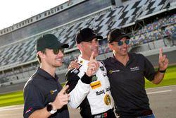 Pole position p for #5 Action Express Racing Cadillac DPi: Joao Barbosa, Christian Fittipaldi, Filipe Albuquerque