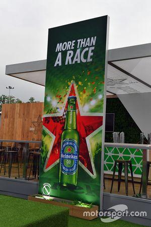 Heineken stand