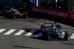 Adam Carroll, Jaguar Racing; Jean-Eric Vergne, Techeetah