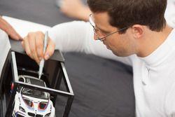 #25 BMW Team RLL BMW M6 GTLM: Alexander Sims