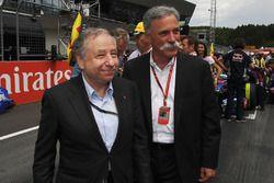 Президент FIA Жан Тодт и председатель Formula One Group Чейз Кэри