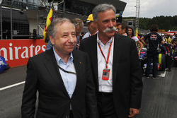 Jean Todt, Presidente FIA, Chase Carey, Chief Executive Officer, Executive Chairman, Formula One Gro