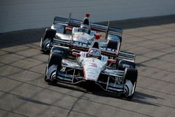 Helio Castroneves, Team Penske Chevrolet, Will Power, Team Penske Chevrolet