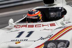 Neel Jani, Porsche 936, lors de la parade des légendes