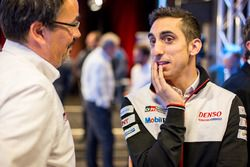 Sébastien Buemi, Rob Leupen, Toyota Racing team director