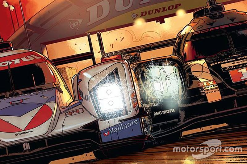 Cover Michel Vaillant Le Mans Comic Mit Rebellion Racing Und