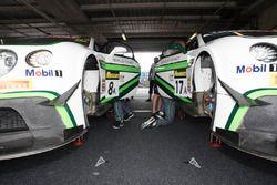 #8 Bentley Team M-Sport, Bentley Continential GT3, #17 Bentley Team M-Sport, Bentley Continential GT