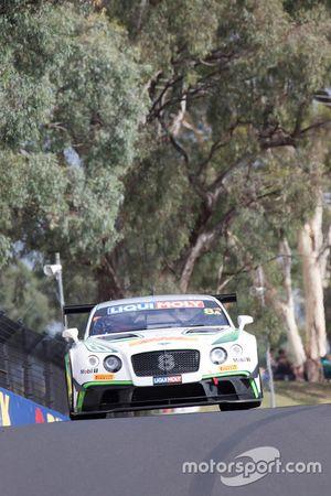 #8 Bentley Team M-Sport, Bentley Continential GT3, #17 Bentley Team M-Sport