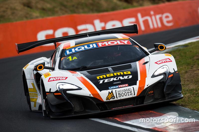 5. #1 Tekno Autosports / McLaren GT, McLaren 650s GT3