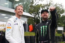 Jenson Button et Liam Doran, JRM Racing