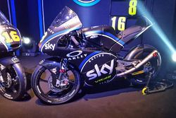 The Moto3 bike of Nicolo Bulega