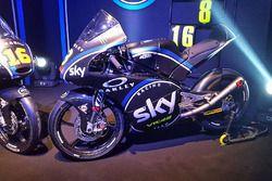Moto3 la moto de Nicolo Bulega
