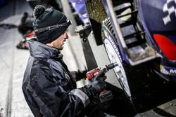 M-Sport mechanic at work