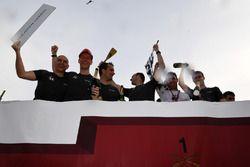 Floßrennen in Montreal: McLaren, Scuderia Toro Rosso, Sauber