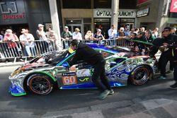 #60 Clearwater Racing Ferrari 488 GTE: Richard Wee, Alvaro Parente, Hiroki Katoh