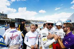 Felix Rosenqvist, Mahindra Racing, Daniel Abt, ABT Schaeffler Audi Sport, Lucas di Grassi, ABT Schae