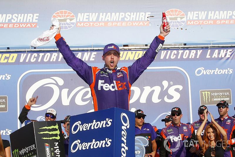 Loudon (New Hampshire): Denny Hamlin (Gibbs-Toyota)