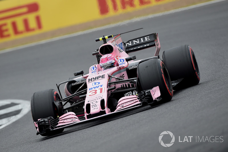 8. Естебан Окон, Force India Mercedes