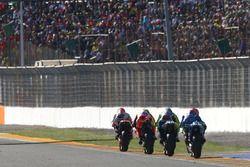 Marc Marquez, Repsol Honda Team, Andrea Iannone, Ducati Team, Valentino Rossi, Yamaha Factory Racing, Maverick Viñales, Team Suzuki Ecstar MotoGP