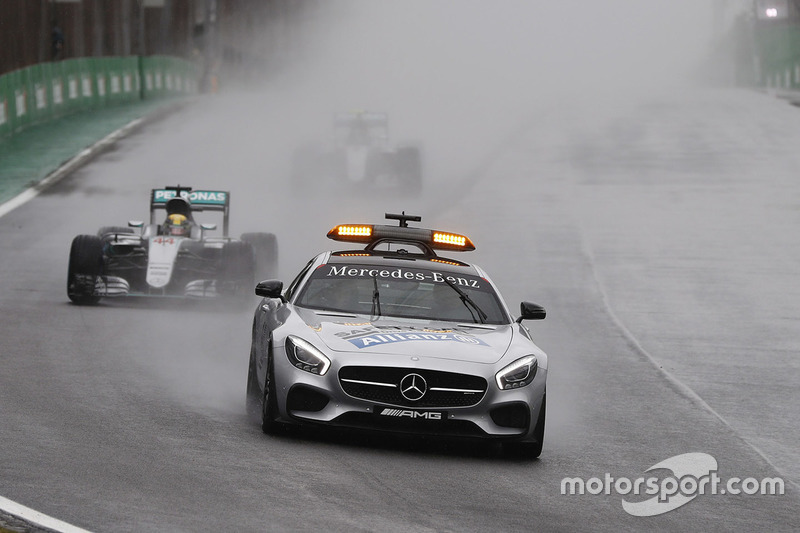 Safety car en Interlagos