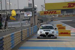 Davit Kajaia, GE-Force, Alfa Romeo Giulietta TCR stopped on track