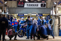 #7 Yamaha: Kohta Nozane, Marvin Fritz, Broc Parkes, Max Neukirchner