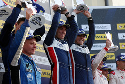 LMP3 Podium: first place John Falb, Sean Rayhall, United Autosports